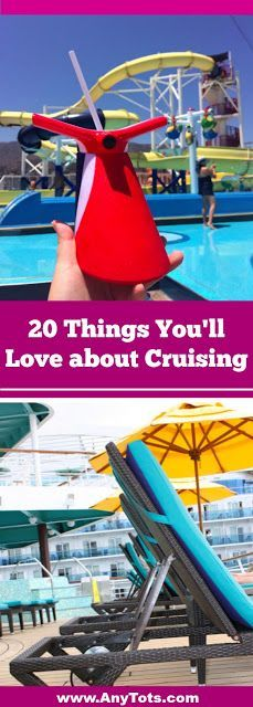 Did you ever wonder why so many people cruise or why people keep cruising? We share 20 Reasons Why We Love Cruising on the blog, www.anytots.com You'll love cruising as a couple or cruising with kids too. Check all our cruise tips on the blog.