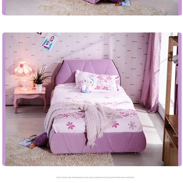 Детская розовая кровать с мягким подголовником купить в онлайн-каталоге https://lafred.ru/catalog/catalog/detail/39629496117/
