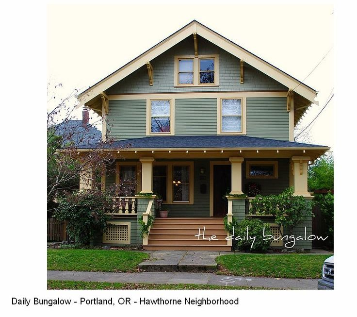 Narrow 2 story craftsman house google search house - How to paint a 2 story house exterior ...