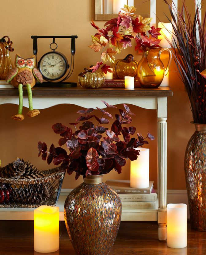 Home Fall Decorating Ideas 2840: 17 Best Images About Fall & Harvest Decor On Pinterest