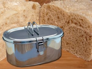 No Knead  No Oven Bread – cooked in a thermal cooker.