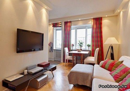 Однокомнатные квартиры с умом 5 / красивые дизайны квартир фото