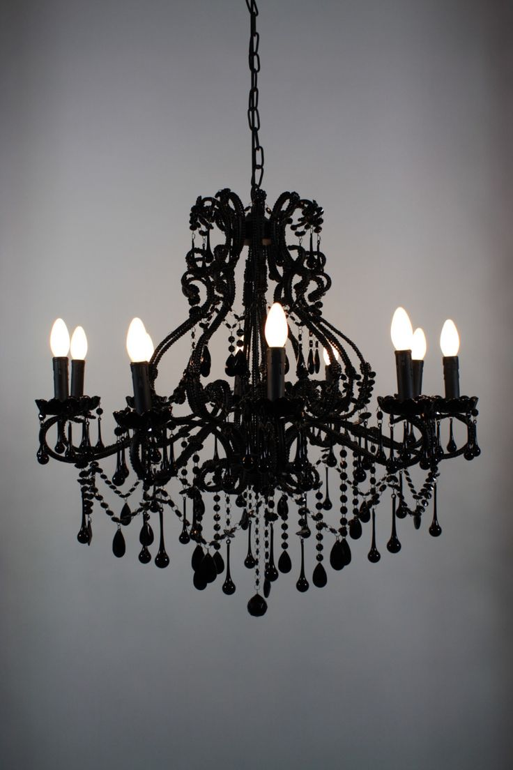 405 best chandeliers images on pinterest chandeliers home ideas love a hint of vintage black chandelier arubaitofo Gallery