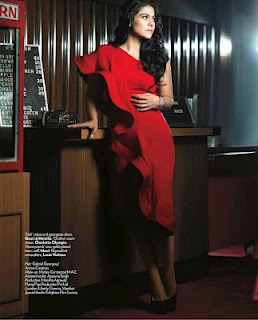 Kajol's Vogue Magazine India – August 2012 Pictures. | Bollywood Cleavage