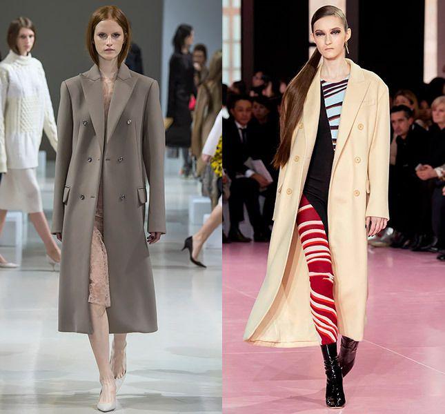 Prawo - Nina Ricci, po lewej stronie - Christian Dior