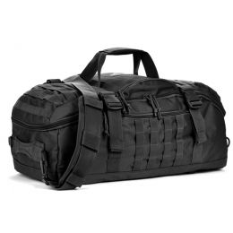 Red Rock Outdoor Gear Traveler Duffle Bag, Black, One-Size 80260BLK