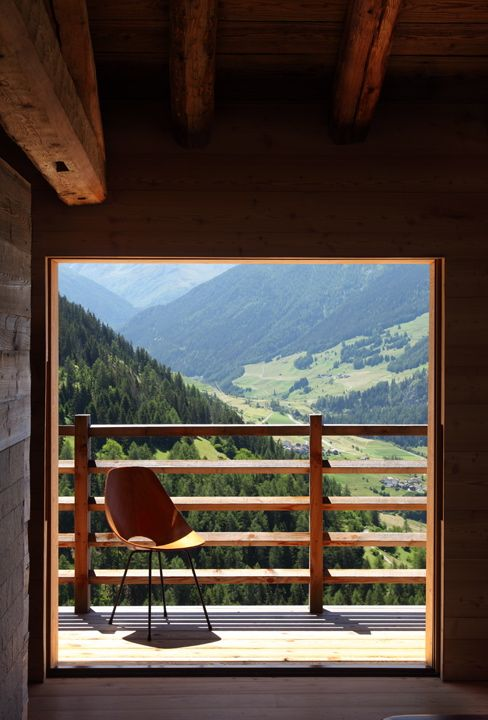 A chalet in the Swiss Alps