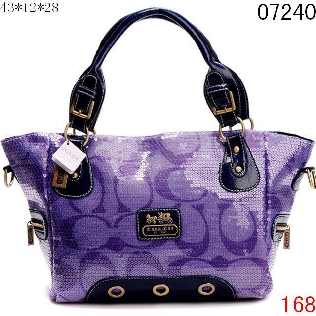 Blue Handbags  Purple Handbags By Coach 333f25308d464