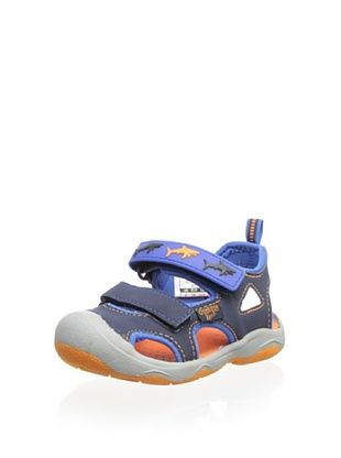 57% OFF OshKosh B'Gosh Rapid-B Bump Toe Sandal (Navy)