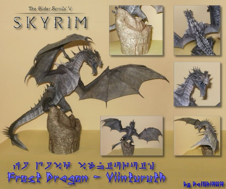 skyrim___frost_dagon_papercraft_by_daishihun-d4wc19e.jpg (1200×1000)