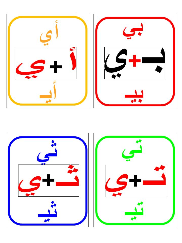 Arabic Long Vowels Flashcards(Part III) image 2