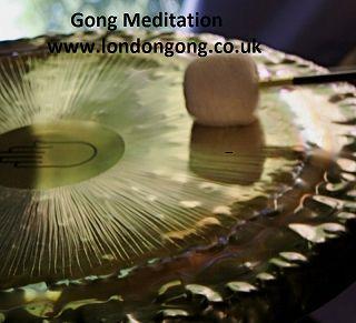 Gong Bath and Sound Bath Meditation @Artsdepot in North London Finchley on 11th April.