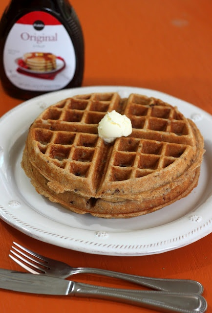 Confections from the Cody Kitchen: Honey Pecan Waffles