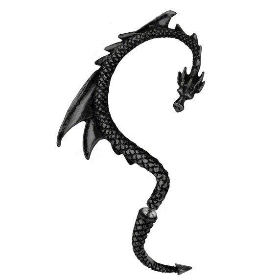 Dragon Ear Cuff Drachen Ohrklemme Ohrstecker Game of Thrones