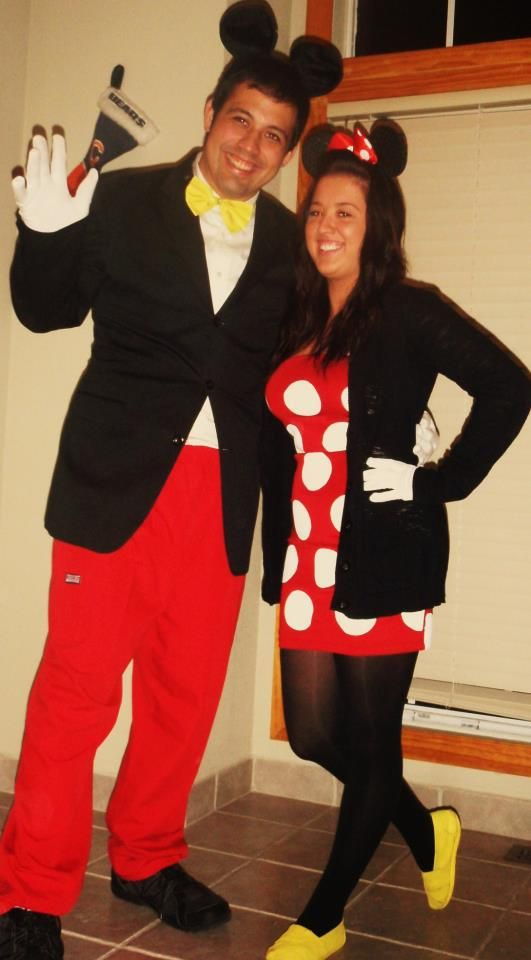 172 best minnie mouse costumes images on pinterest disney inspired mickey and minnie diy halloween costume solutioingenieria Images