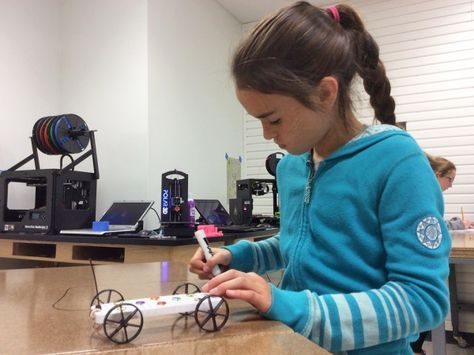 """Sometimes, education nowadays IS better than it used to be: """"Middle School Maker Journey: Top 20 Technologies and Tools"""" -- article in Edutopia."""