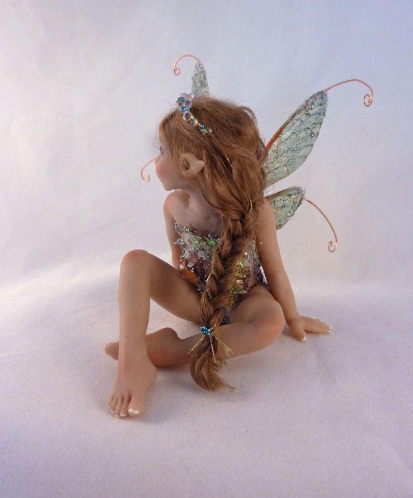 original polymer clay/mixed media sculpture/doll OOAK Hiddleston Fairy