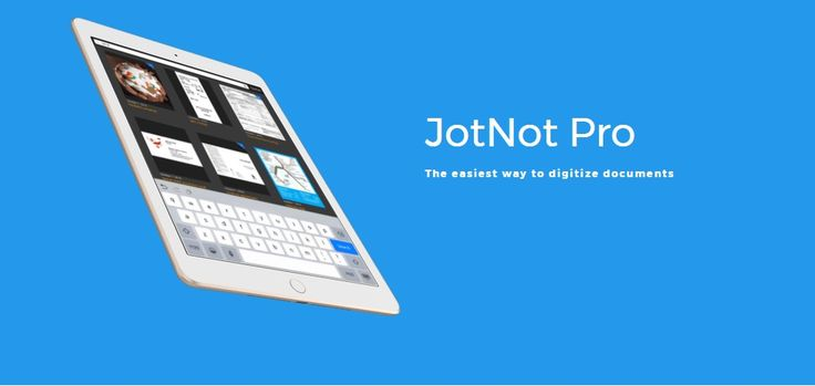 JotNot - allows you to use your mobile phone as a portable scanner #jotnot #app #entrepreneurs