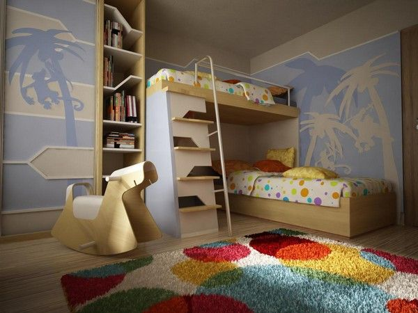 A different take on bunk beds!