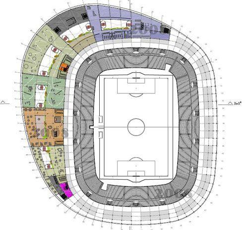 Dossier Nuevo Estadio Zaragoza 3.0 - Diseño ganador Estudio Sicilia. AupaZaragoza.com.