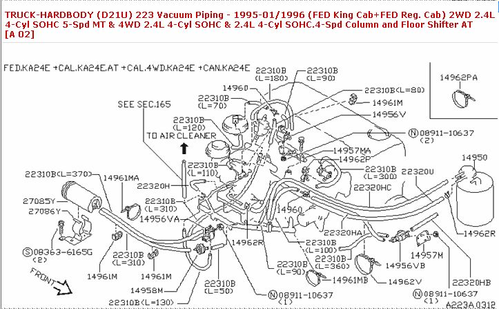 97 nissan hardbody 2 4l wiring diagram electrical wiring diagram rh universalservices co