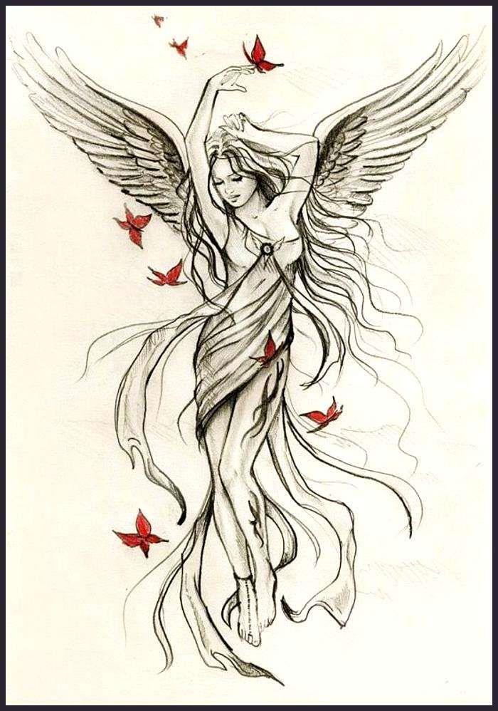 31++ Modele tatouage ange gardien trends