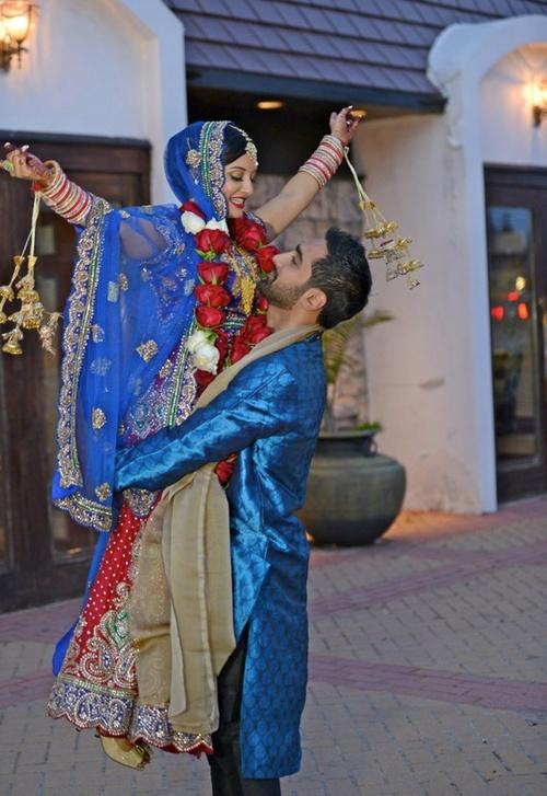 Indian wedding couple   Visit www.weddingsonline.in for inspiration