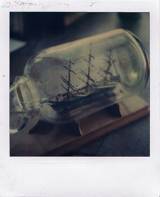 ship in a bottle // raymond molinar