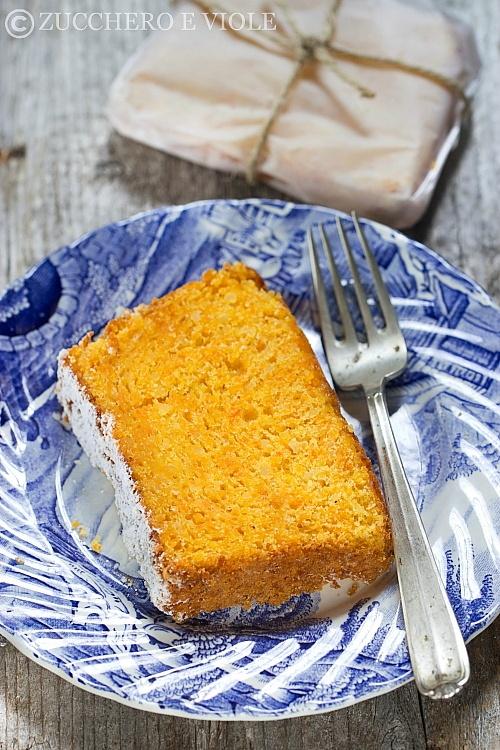 Torta carote e mandorle nolatte