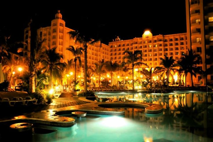 Pool side, night view. Such a beautiful place to be. The people were fantastic, the food was amazing, and the entertainment and night life was the best I've seen anywhere! Would totally go here again.