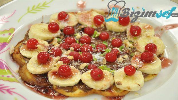 Meyveli Waffle Tarifi