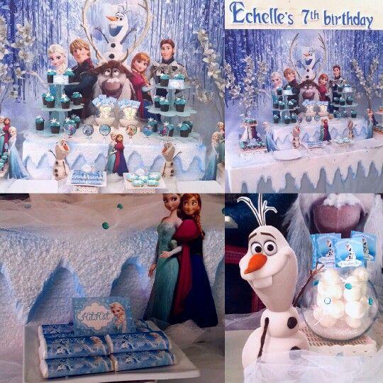 #Frozen themed party at Kelapa Gading by #wishmaster_eo