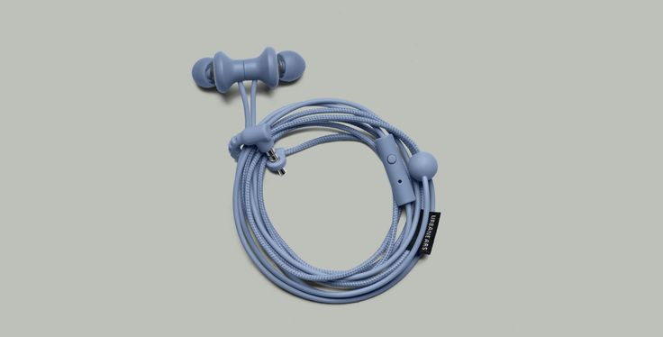 Urbanears Kransen Headphones in Sea Grey
