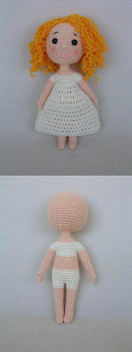 Еще одно замечательное МК куколки крючком!!! | Куклы-Мусульманки от Малины МисУру (на заказ).