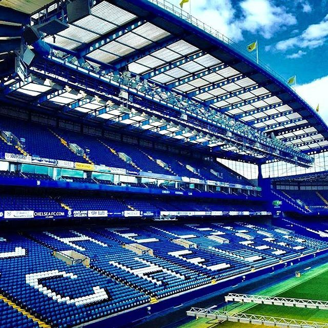 Game Day ⚽️ @chelseafc