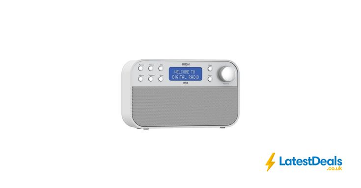 Bush DAB Radio - White/Silver *HALF PRICE* Free C&C, £29.99 at Argos