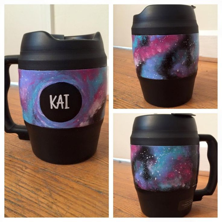 galaxy painted bubba keg with black hole...use a toothbrush to flick on the white paint!