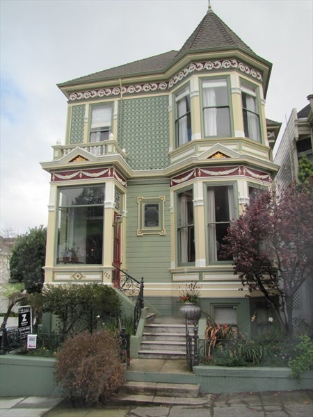 266 best images about painted ladies on pinterest queen for San francisco victorian houses