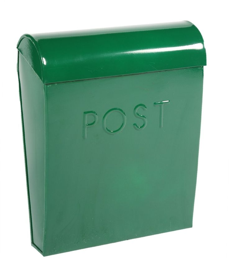 """Vineyard Valleys"" Green Contemporary Post Box - Wall Mounted Post Boxes - Post Boxes & Newspaper holders - Catalogue  