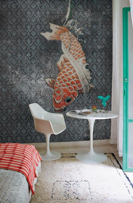 17 best ideas about koi wallpaper on pinterest osborne for Koi wallpaper for walls