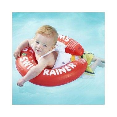Zwemtrainer rood  Speciaal ontwikkeld om jonge kinderen vroeg en veilig te leren zwemmen. Geschikt voor baby's en peuters van 3 maanden tot 4 jaar en met een gewicht tussen de 6-18 kilo.  EUR 21.99  Meer informatie
