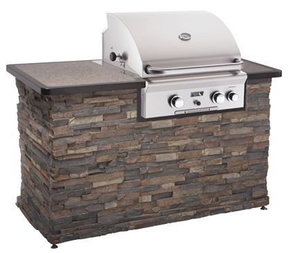 Image detail for -Built in gas BBQ grill by American Outdoor Grills for outdoor kitchen ...