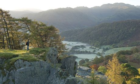 View from Castle Crag, Borrowdale. Home of Millican Dalton (and us)