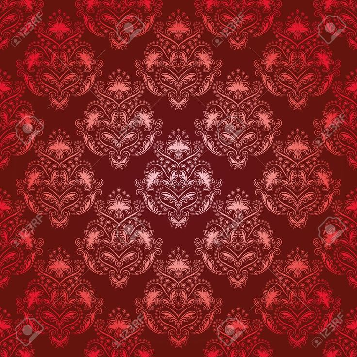 фоны для декупажа золотисто-красный дамасский: 13 тыс изображений найдено в Яндекс.Картинках