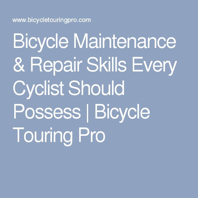 Best 25+ Bicycle maintenance ideas on Pinterest Biking, Mountain - bicycle repair sample resume