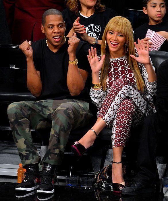 30 Times Celebrities Had a Blast Sitting Courtside ...