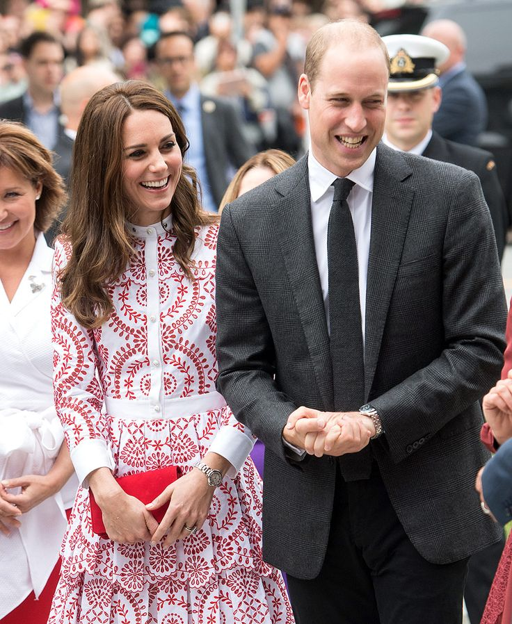 Kate Middleton, la Duquesa de Cambridge, y el Principe William en la visita real a Canad�