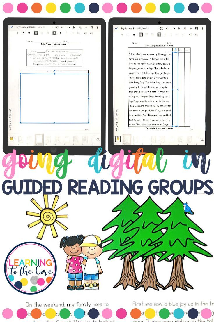 Digital Guided Reading Guided Reading Guided Reading Kindergarten Guided Reading Groups Guided reading lessons for kindergarten