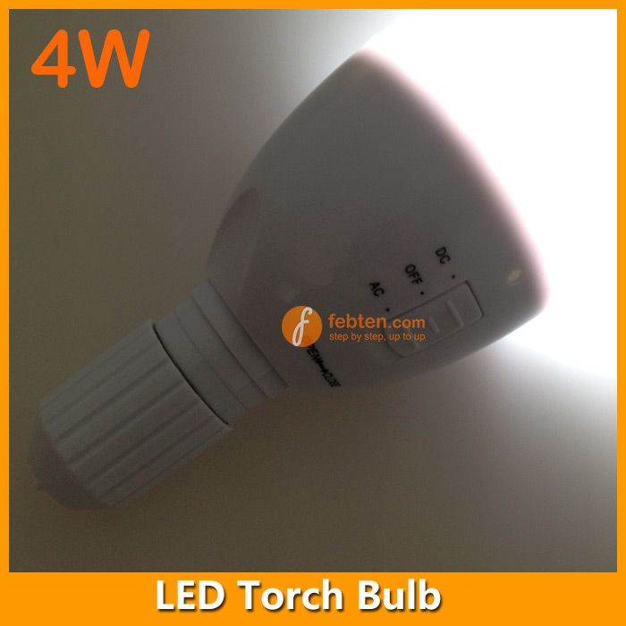 E27 LED rechargeable torch