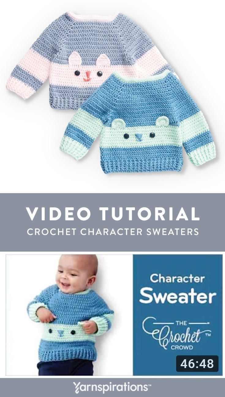 Watch a how-to video by The Crochet Crowd to learn how to crochet